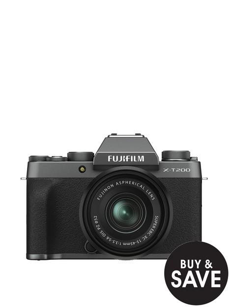 fujifilm-x-t200-mirrorless-camera-with-15-45-mm-f35-56-xc-zoom-lens-dark-silver