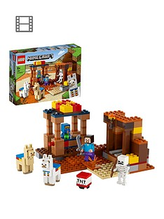 lego-minecraft-the-trading-post-building-set-21167