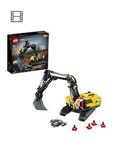 lego-technic-heavy-duty-excavator-building-set-42121