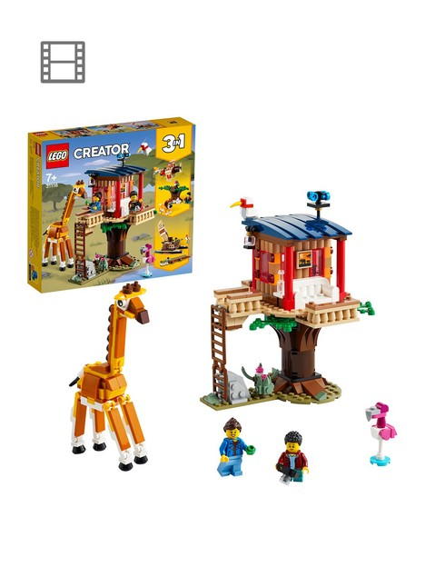 lego-creator-3in1-safari-wildlife-tree-house-31116