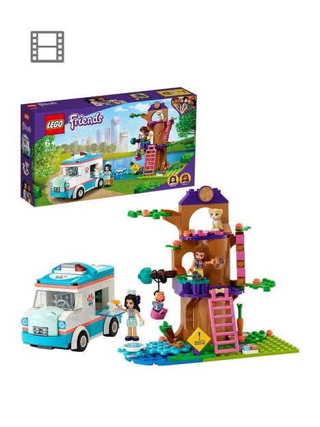 lego-friends-vet-clinic-ambulance-toy-car-41445