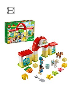 lego-duplo-town-horse-stable-and-pony-care-toy-10951