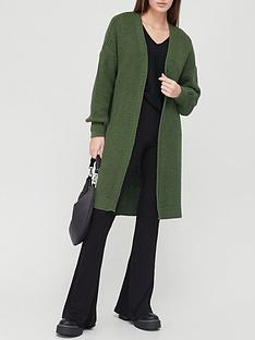 v-by-very-longline-knitted-cardigan-khaki