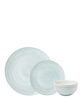 sabichi-green-swirl-12-piece-dinner-set