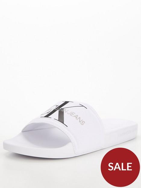 calvin-klein-jeans-slides-logo-monogram-white