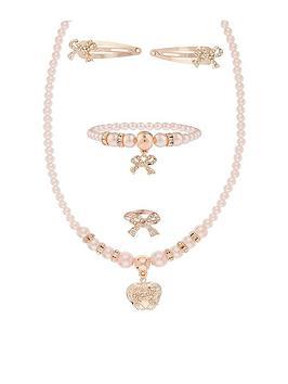 monsoon-girls-ombre-pearl-heart-locket-jewellery-set-pink