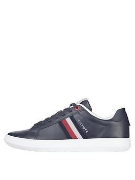 tommy-hilfiger-essential-leather-cupsole-trainers-desert-sky-navynbsp