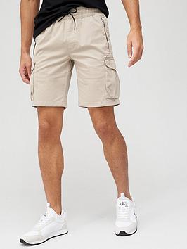 calvin-klein-jeans-gmdnbspcargo-shorts-stone