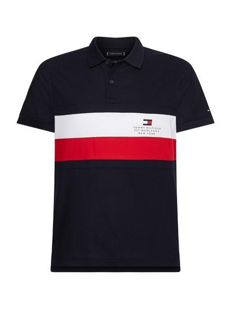 tommy-hilfiger-chest-stripe-slim-polo-shirt-desert-skynbsp