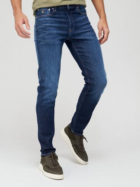 calvin-klein-jeans-slim-taper-fit-vintage-wash-jeans--nbspdenim-blue