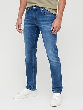 calvin-klein-jeans-slim-fitnbspwash-jeans-mid-bluenbsp