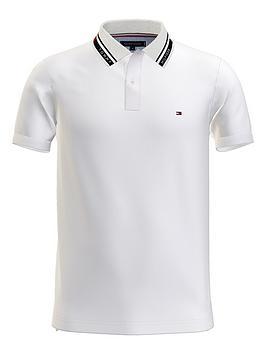 tommy-hilfiger-1986-hilfiger-collar-slim-polo-shirt-whitenbsp