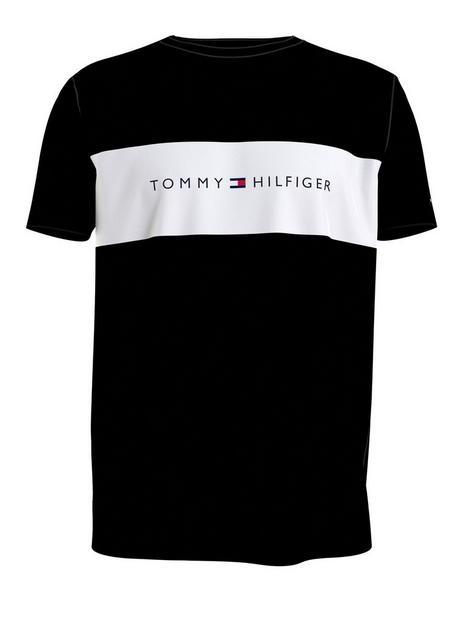 tommy-hilfiger-flag-logo-lounge-t-shirt-blacknbsp