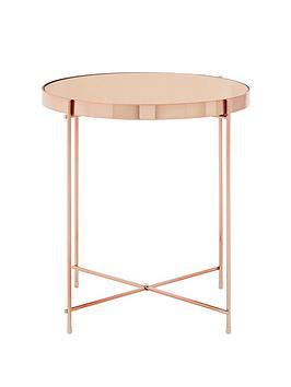 premier-housewares-allure-side-table--rose-gold