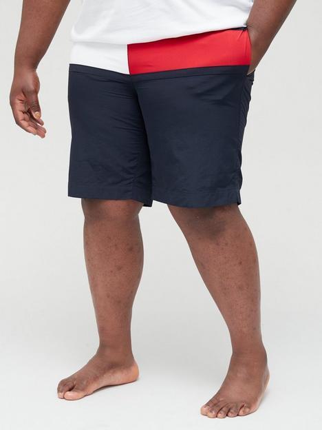 tommy-hilfiger-big-amp-tall-medium-drawstring-swim-shorts-desert-skynbsp