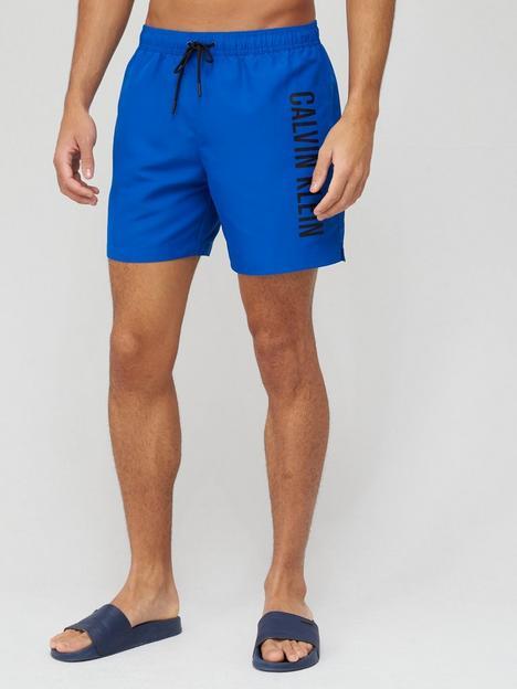 calvin-klein-medium-drawstring-logo-swim-shorts--nbspblue