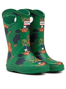 hunter-peter-rabbit-classic-pull-on-wellington-boot-green