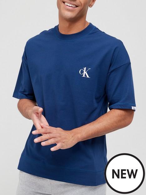 calvin-klein-lounge-t-shirt--nbsplake-blue