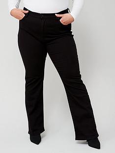 levis-plus-725reg-highnbsprise-bootcut-jean-black