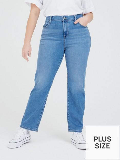 levis-plus-724-hi-rise-straight-leg-jean-blue