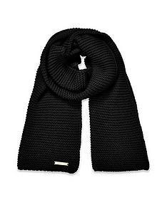 katie-loxton-chunky-knit-scarf-black