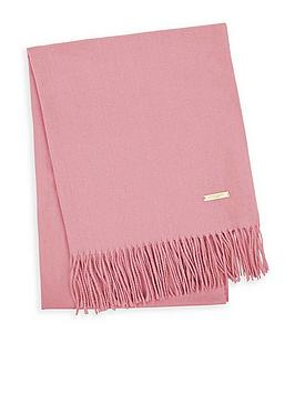 katie-loxton-thick-plain-scarf-with-gift-box-pink