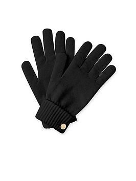 katie-loxton-chunky-knit-gloves-black