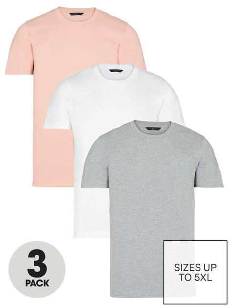 very-man-3-pack-ofnbspessential-crew-t-shirt-multi