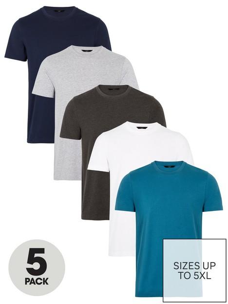 very-man-essential-crew-t-shirt-nbsp5-pack-multi