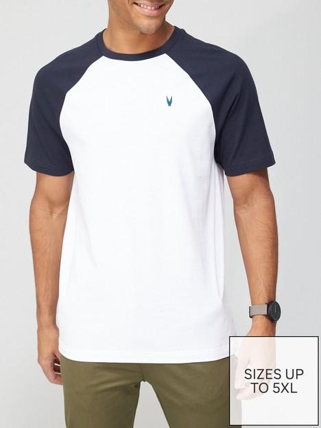 very-man-raglan-t-shirt-navywhite