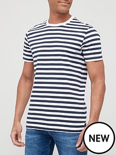 very-man-easy-stripe-t-shirt-navy