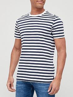 very-man-easy-stripe-t-shirt-navywhite