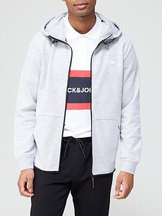 jack-jones-logo-zip-through-hoodie-white