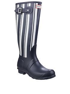 hunter-original-garden-stripe-welly-boot