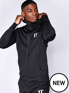 11-degrees-core-poly-full-zip-track-top-blacknbsp