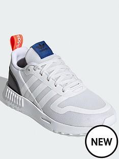 adidas-originals-childrensnbspsmooth-runner-whitemulti