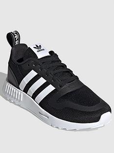 adidas-originals-smooth-runner-childrens-trainer-blackwhite