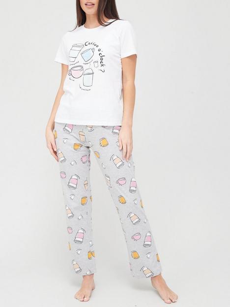 v-by-very-coffee-slogan-pyjamas-print