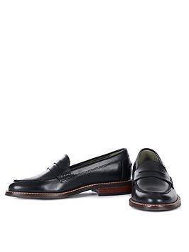 barbour-blenheim-loafer-black