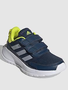 adidas-childrensnbsptensaur-run-navywhiteyellownbsp