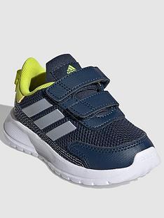 adidas-infantsnbsptensaur-run-navywhiteyellownbsp