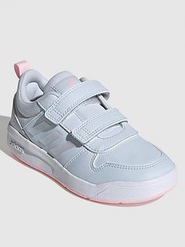 adidas-tensaur-childrens-trainer-blue