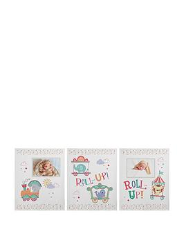 tiny-tatty-teddy-little-circus-set-of-3-canvas