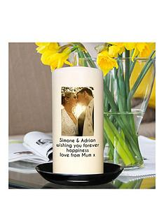 personalised-message-photo-pillar-candle