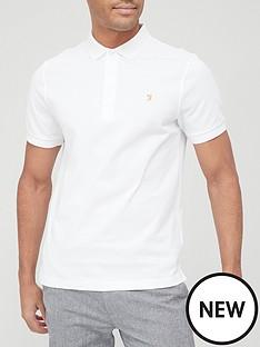 farah-blanes-pique-polo-shirt-whitenbsp