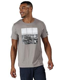 regatta-regatta-cline-logo-t-shirt-grey