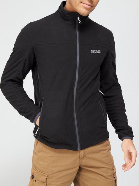 regatta-stanner-zip-through-fleece-black