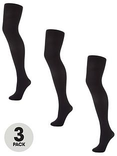 v-by-very-valuenbsp3-packnbsp80-denier-opaque-tights-black