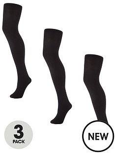 v-by-very-valuenbsp3-packnbsp100-deniernbspopaque-tights-black