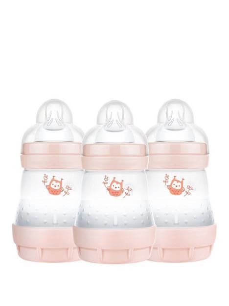 mam-mam-easy-start-160ml-baby-bottle-3-pack-pink